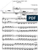 Bach - Toccata and Fugue