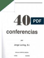 40 Conferencias Del P Jorge Loring