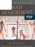 # Handbook of Mass Measurement