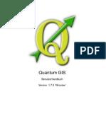 Qgis-1.7.0 User Guide De