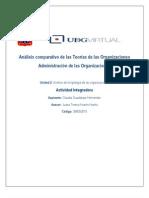 Análisis comparativo de las teorias de las organizaciones_U2_AI