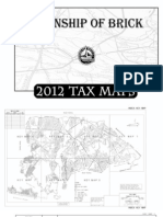 2012 Brick Township Tax Map Book