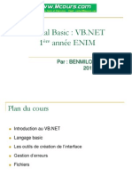 Cours PDF Complet Visual Basic VB NET
