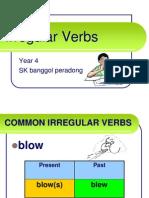 Grammar Irregular Verbs - Simple Past Tense