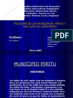 FOLKLORE DE LOS MUNICIPIOS PIRITU,SAN JUAN DE CAPISTRANO Y FREITES.ppt