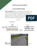 CLASIFICACIÓN DE LAS FALLAS DE PAVIMENTO