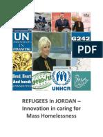Jordan Refugees Media Tour May 2013