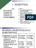 ADJECTIVULClasificare - Categorii gramaticale - Gradul de comparație - Funcții sintactice= Limba română - Adjectivul limba-romana.ucoz.ro/index/adjectivul/0-24 Translate this page Adjectivul. Adjectivul este partea de vorbire care denumeşte însuşiri ale obiectelor, şi anume