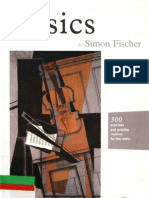 Simon Fischer, Violin Method Basics