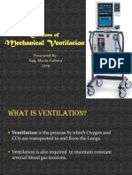 Outlines of Mechanical Ventilation