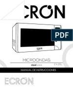 Manual Microondas Ex25lnew