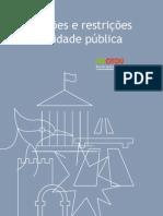 Servidões e restrições de utilidade pública_2011.09