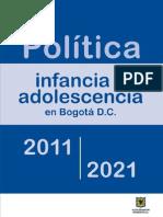 Politica de Infancia y Adolescencia Todo