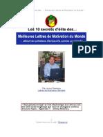 Conseils de Lettres de Motivation Gratuits