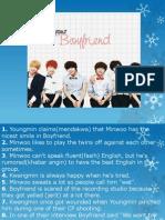 Boyfriend 's Facts