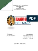 MEJORAMIENTO GENÉTICO DEL MAÍZ (ENSAYO-EDDY MAR)