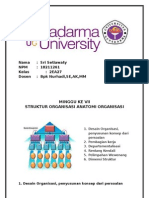 BAB. IV Struktur Organisasi; Anatomi Organisasi.