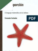Corbalán_ Fernando - La Proporción Áurea