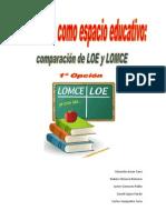 Comparacion LOE LOGSE