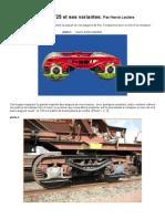 Modélisme ferroviaire à l'échelle HO. Le Bogie Y25 et ses variantes par Hervé Leclère