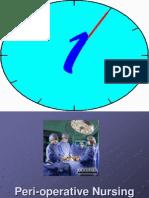Peri Operative Nursing