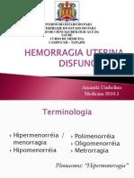 Hemorragias Ginecológicas de Causa Hormonal