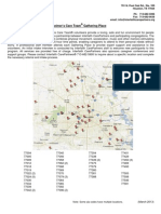 Gathering Place Locations by Zip Code March 2013