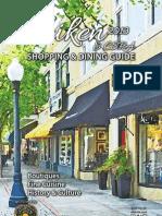 Aiken Shopping & Dining Guide 2013
