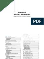Apuntes de Clases, Historia Del Derecho