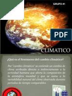 Cambio Climatic o
