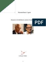 Capati Massimiliano - Franco Fortini e Geno Pampaloni