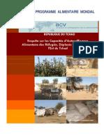 Enquête sur les Capacités d'Autosuffisance Alimentaire des Réfugiés, Déplacés et Retournés à l'Est du Tchad (Janvier 2009)
