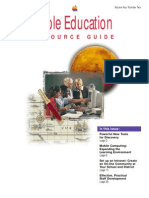 Apple Education Resource Guide - November 1996 - Volume Four Number Two