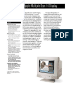 Apple MultiScan 14 Display
