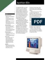 AppleVision 850AV