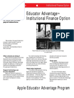 Educator Finance Options