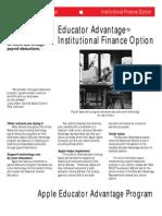 Educator Finance Options