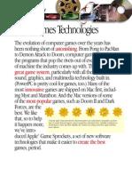 Game Sprockets Fact Sheet