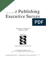 Color Publishing Executive Survey