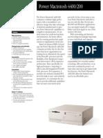 Power Macintosh 4400/200
