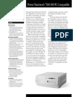 Power Macintosh 7300 PC