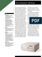 Power Macintosh 7600 Series