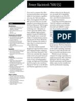 Power Macintosh 7600/132