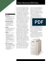 Power Macintosh 8600 Series