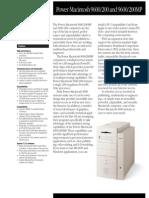 Power Macintosh 9600/200 and 9600/200MP