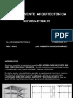 LA  ENVOLVENTE  ARQUITECTÓNICA