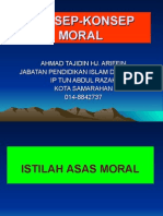 MORAL AKHLAK & ETIKA