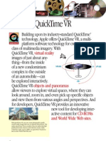 QuickTime VR Fact Sheet
