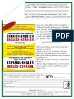 The University of Chicago Spanish English Dictionary