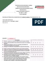 Plan Anual de Actividades=Pat 2010-2011